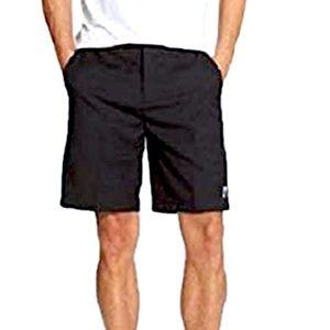 DKNY Men's Modern Flat-Front Tech Shorts NWT